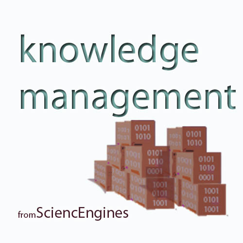 knowledge management from SciencEngines
