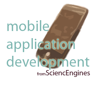 mobile application development from SciencEngines